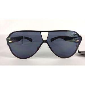 NWT Quay X Funboy Stay Afloat Sunglasses Blk/Smk